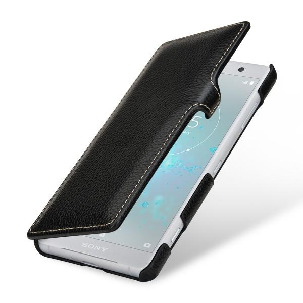 StilGut - Sony Xperia XZ2 Compact Tasche Book Type mit Clip