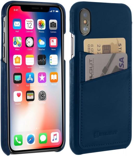StilGut - iPhone X Cover mit Kartenfach