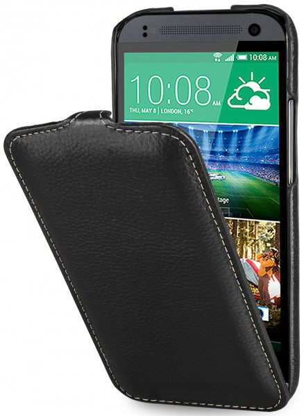 StilGut - UltraSlim Case für HTC One mini 2 aus Leder