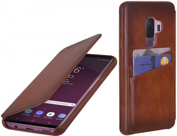 StilGut - Samsung Galaxy S9+ Tasche Book Type mit Kartenfach