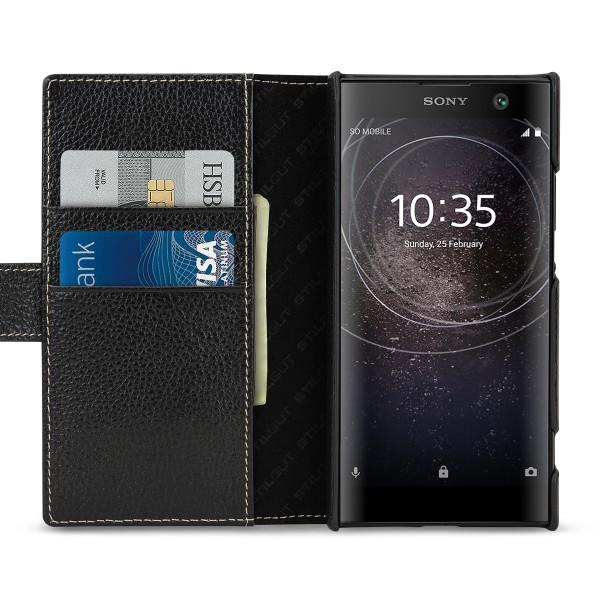 StilGut - Sony Xperia XA2 Hülle Talis mit Kreditkartenfach