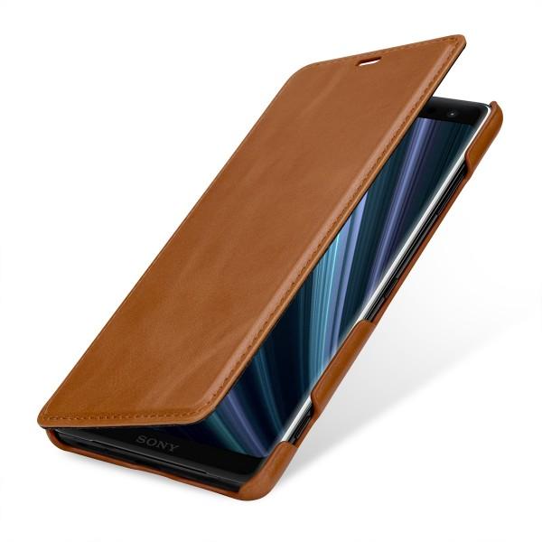 StilGut - Sony Xperia XZ3 Case Book Type ohne Clip