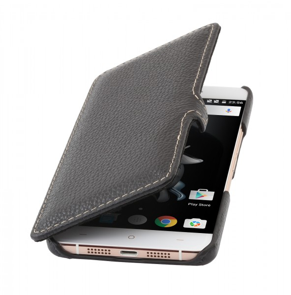 StilGut - OnePlus X Tasche Book Type aus Leder mit Clip