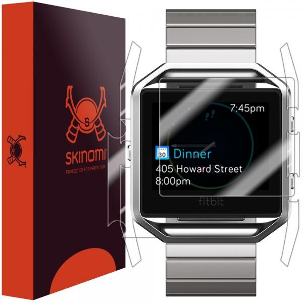 Skinomi - Displayschutzfolie Fitbit Blaze Full Body