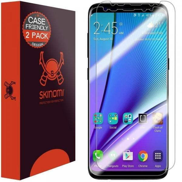 Skinomi - Displayschutzfolie Samsung Galaxy S8+ TechSkin (2er Pack)