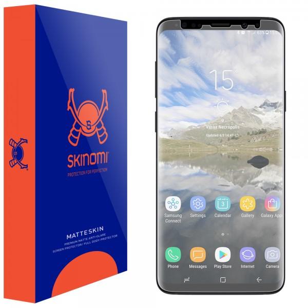 Skinomi - Displayschutzfolie Samsung Galaxy S9+ MatteSkin Maximum Coverage