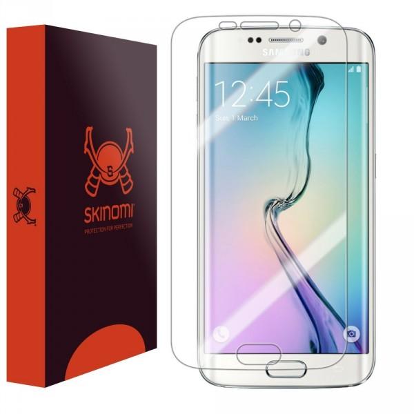 Skinomi - Displayschutzfolie für Galaxy S6 edge TechSkin