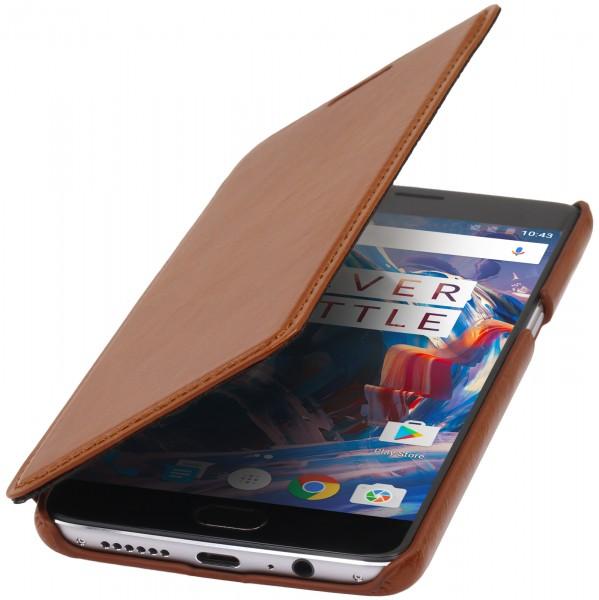 StilGut - OnePlus 3 Case Book Type ohne Clip