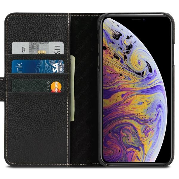 StilGut - iPhone XS Max Hülle Talis mit Kartenfach