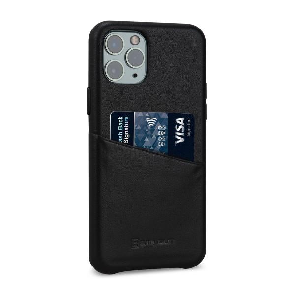 StilGut - iPhone 11 Pro Max Cover Premium mit Kartenfach