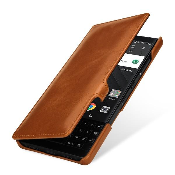 StilGut - BlackBerry KEY2 Tasche Book Type mit Clip