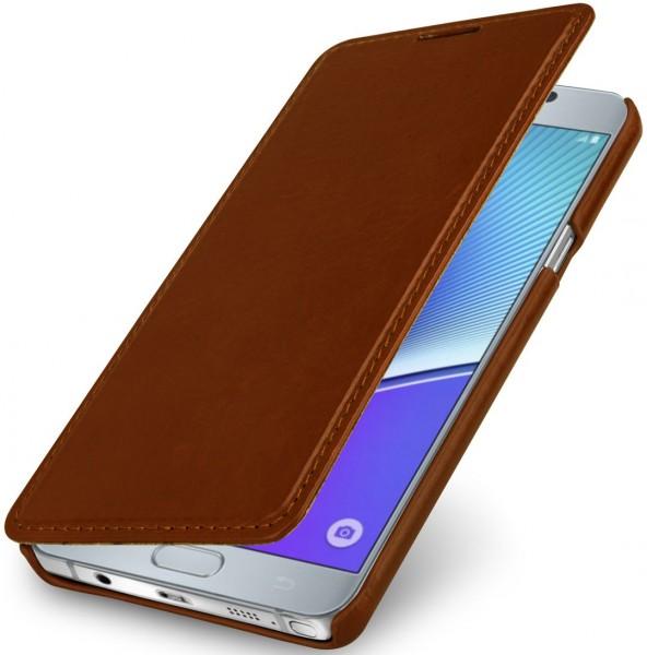"""StilGut - Handyhülle für Galaxy Note 5 """"Book Type"""" ohne Clip"""