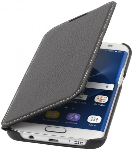 StilGut - Samsung Galaxy S7 edge Case Book Type ohne Clip