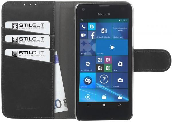 StilGut - Lumia 550 Hülle Talis mit Standfunktion