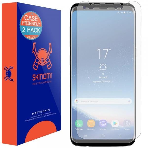 Skinomi - Displayschutzfolie Samsung Galaxy S8 MatteSkin (2er Pack)