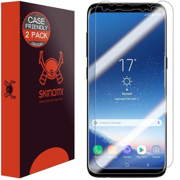 Skinomi - Displayschutzfolie Samsung Galaxy S8 TechSkin (2er Pack)