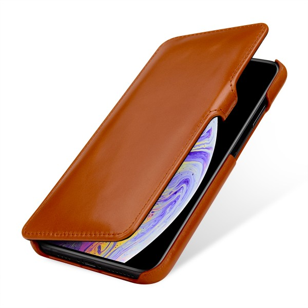 StilGut - iPhone XS Max Tasche Book Type mit Clip