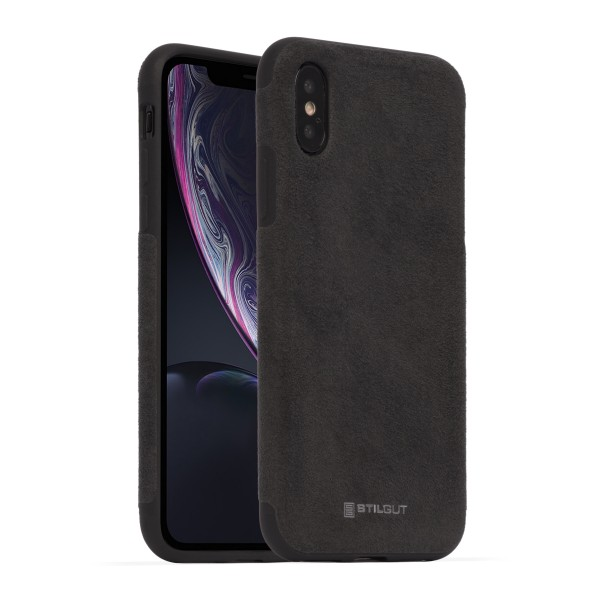 StilGut - iPhone X Cover Alcantara
