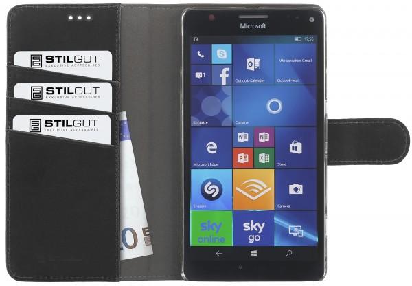 StilGut - Lumia 950 XL Hülle Talis mit Standfunktion