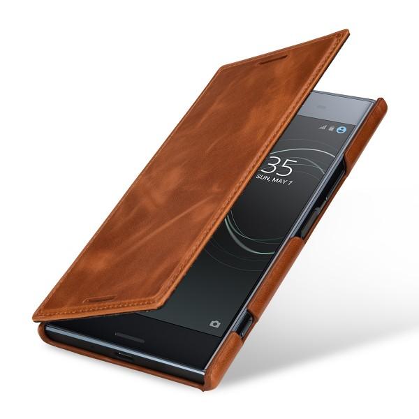 StilGut - Sony Xperia XZ Premium Case Book Type ohne Clip