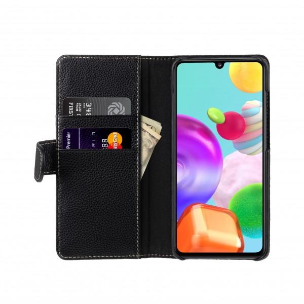 StilGut - Samsung Galaxy A41 Flip Cover Talis mit Kartenfach