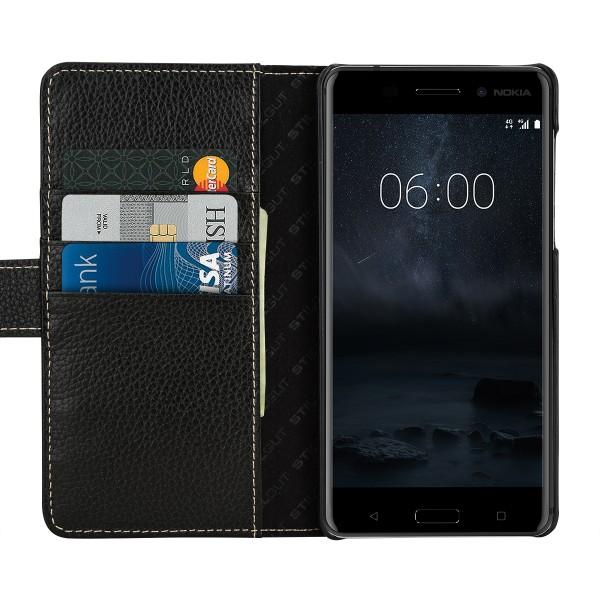 StilGut - Nokia 6 Hülle Talis mit Kreditkartenfach