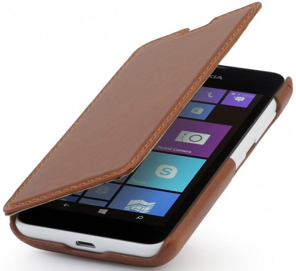 "StilGut - Ledertasche ""Book Type"" für Nokia Lumia 530"