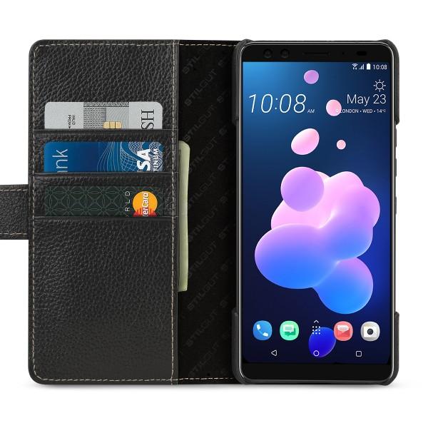 StilGut - HTC U12+ Hülle Talis mit Kreditkartenfach