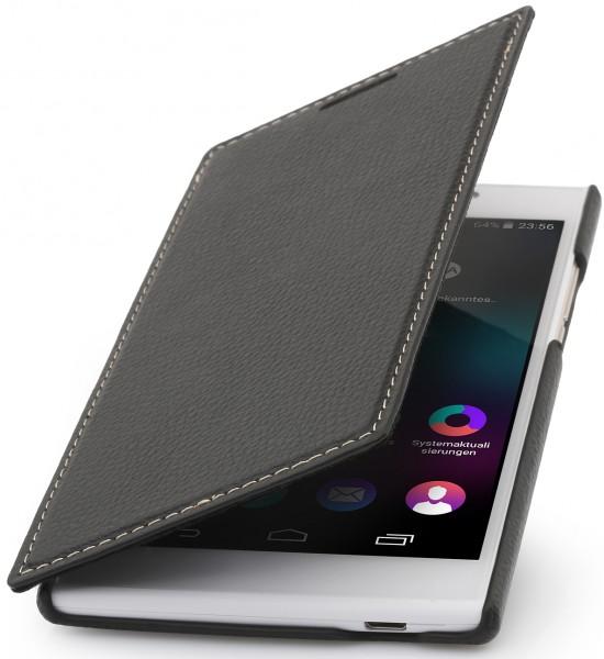 """StilGut - Handyhülle für Wiko Ridge Fab 4G """"Book Type"""" ohne Clip"""