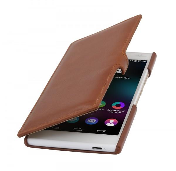 """StilGut - Handyhülle für Wiko Ridge 4G """"Book Type"""" mit Clip"""