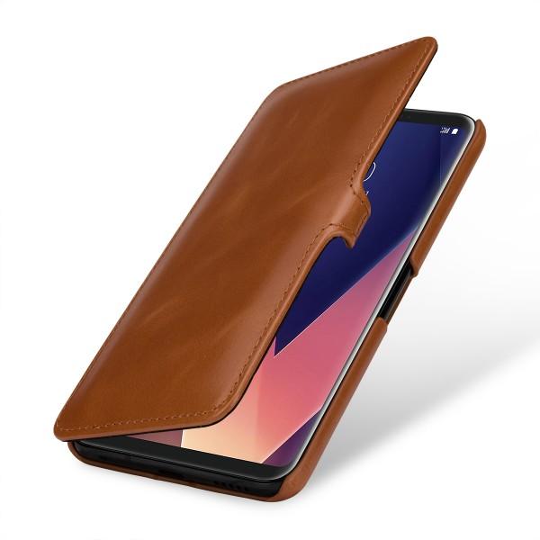 StilGut - LG V30 Tasche Book Type mit Clip