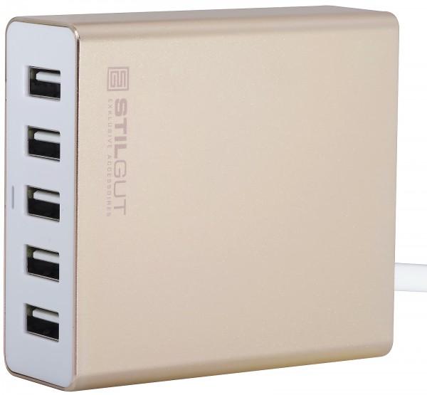 StilGut - 5-Port USB-Ladegerät