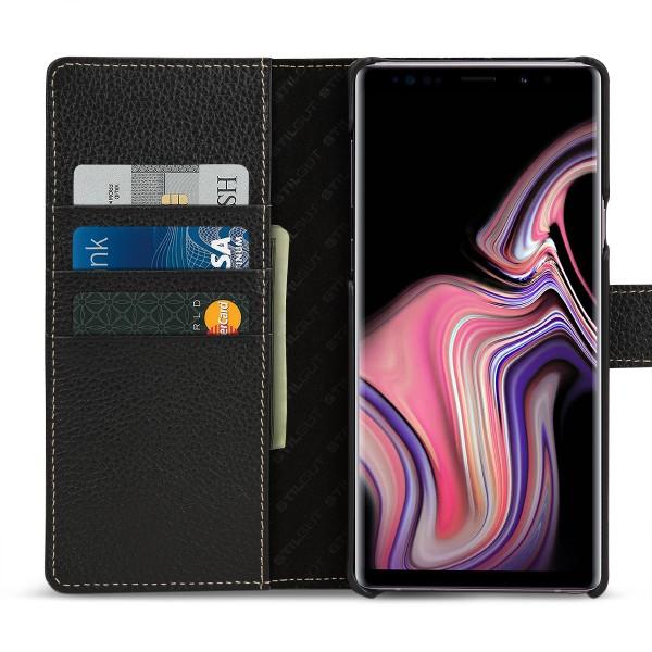 StilGut - Samsung Galaxy Note 9 Hülle Talis mit Kartenfach