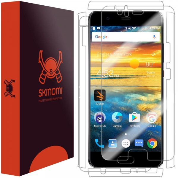 Skinomi - Displayschutzfolie Huawei P10 Plus Full Body