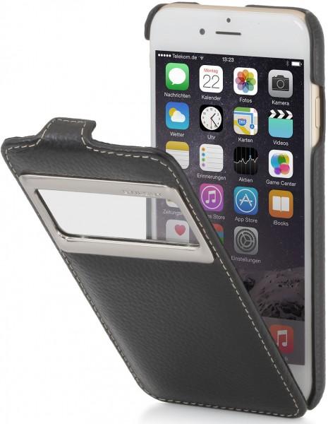 StilGut - Handyhülle für iPhone 6 UltraSlim mit Sichtfenster aus Leder
