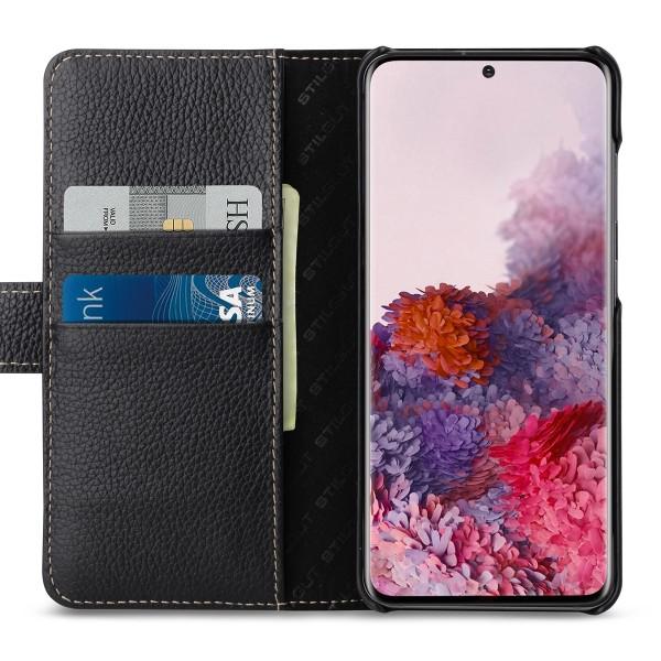 StilGut - Samsung Galaxy S20 Flip Cover Talis mit Kartenfach