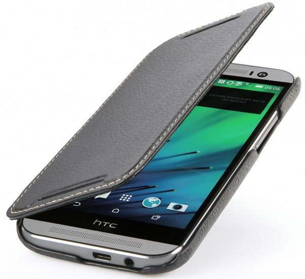 """StilGut - Ledertasche """"Book Type"""" für HTC One M8 / M8s"""