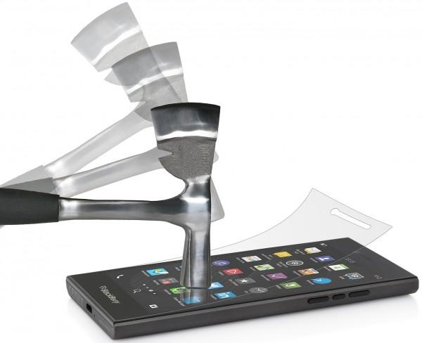 StilGut - Panzerglasfolie für BlackBerry Leap (2er-Pack)
