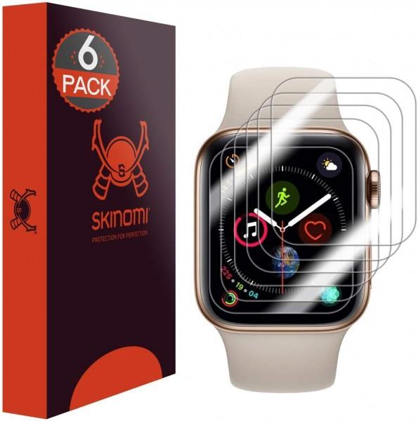 Skinomi - Apple Watch Series 5 (44 mm) Displayschutzfolie