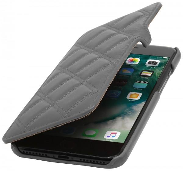 StilGut - iPhone 8 Plus Tasche Book Type mit Clip Karat