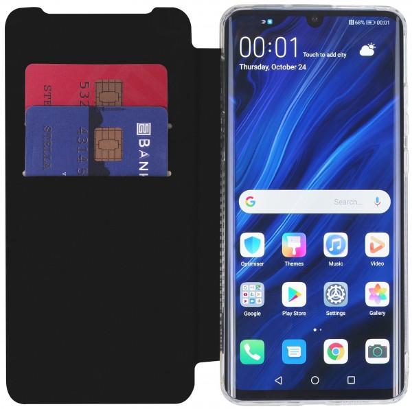 StilGut - Huawei P30 Pro Book Type NFC/RFID Blocking Hülle