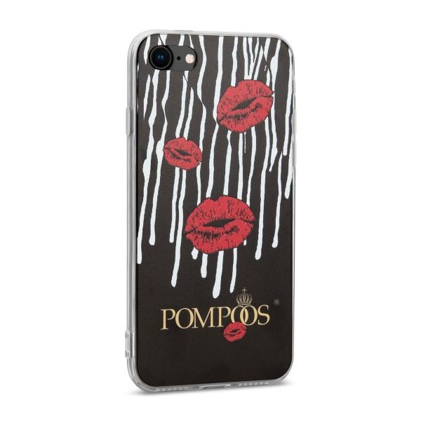 POMPÖÖS by StilGut - iPhone 7 Cover Kuss - Design by HARALD GLÖÖCKLER