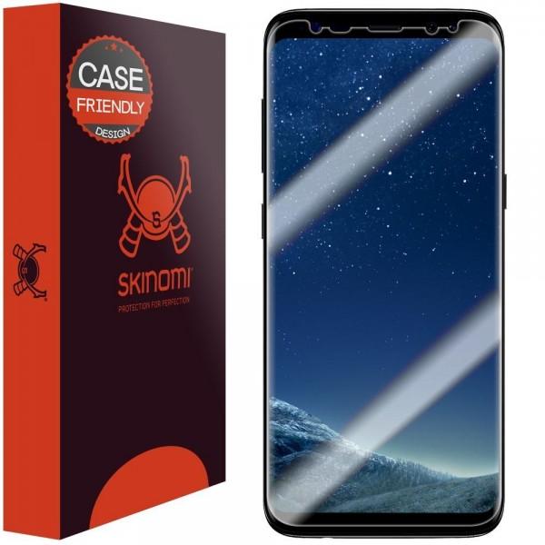 Skinomi - Displayschutzfolie Samsung Galaxy S8 TechSkin