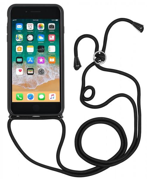 StilGut - Handykette für iPhone 8 Plus mit Lederrückseite