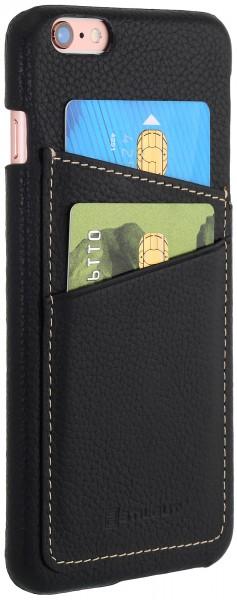 StilGut - iPhone 6 Plus Cover aus Leder mit Kreditkartenfach