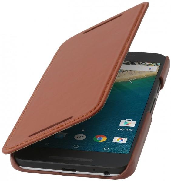 """StilGut - Nexus 5X Case """"Book Type"""" aus Leder ohne Clip"""