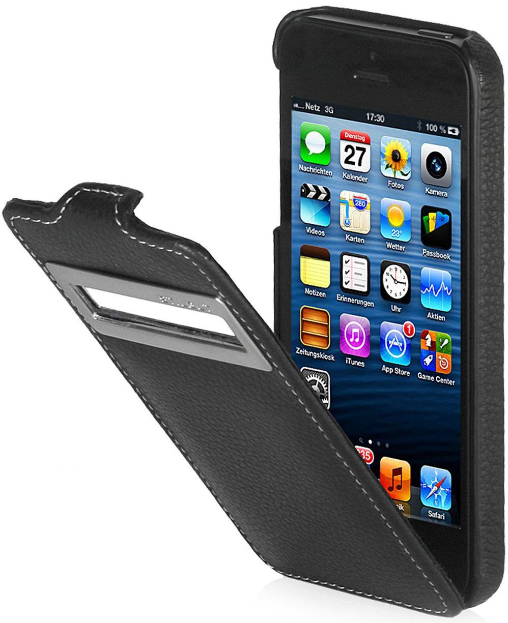 iphone 5 iphone 5s taschen mit sichtfenster stilgut. Black Bedroom Furniture Sets. Home Design Ideas