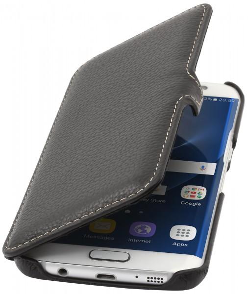 StilGut - Samsung Galaxy S7 edge Tasche Book Type mit Clip