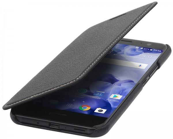 StilGut - HTC U 11 Case Book Type ohne Clip