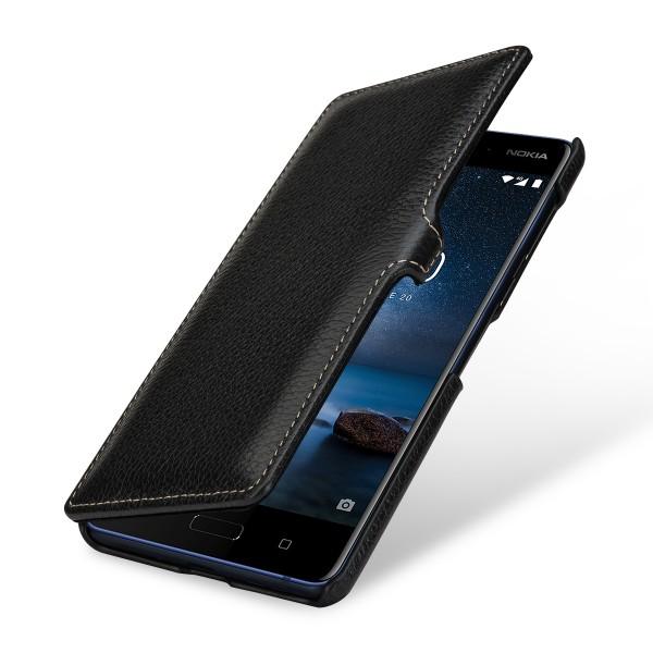 StilGut - Nokia 8 Tasche Book Type mit Clip